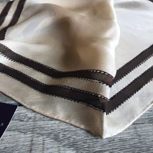 Ralph Lauren Square Silk Scarf